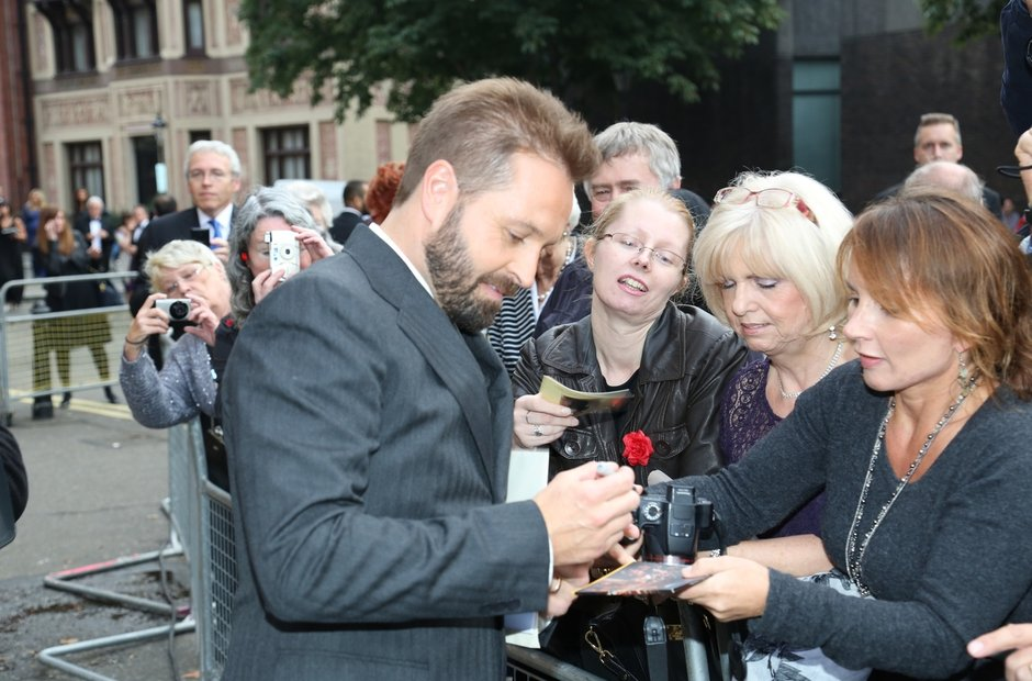 Alfie Boe at the Classic Brit Awards 2013