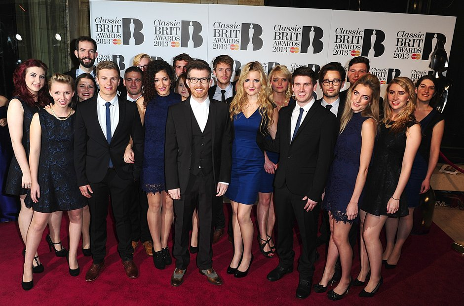 Gareth Malone and Choir  Classic Brit Awards 2013