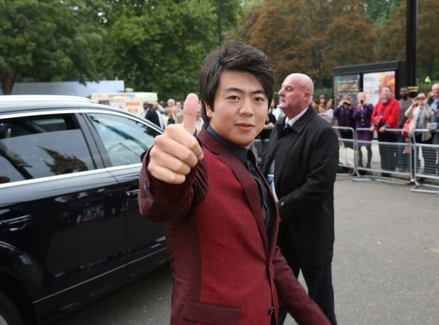 Lang Lang at the Classic Brit Awards 2013