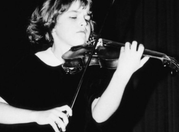 Anne-Sophie Mutter violinist young