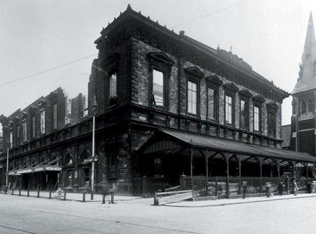 Liverpool Philharmonic Hall fire 1933