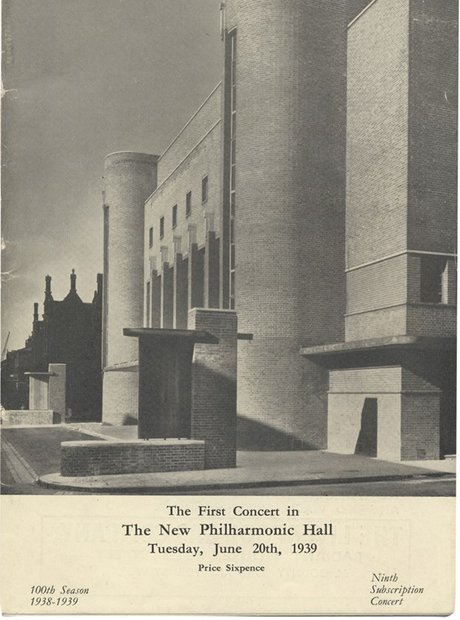 Liverpool Philharmonic Hall new