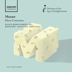 Mozart Horn Concertos OAE Montgomery