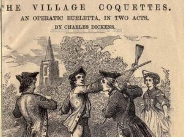 Charles Dickens operetta Village Coquettes Hullah