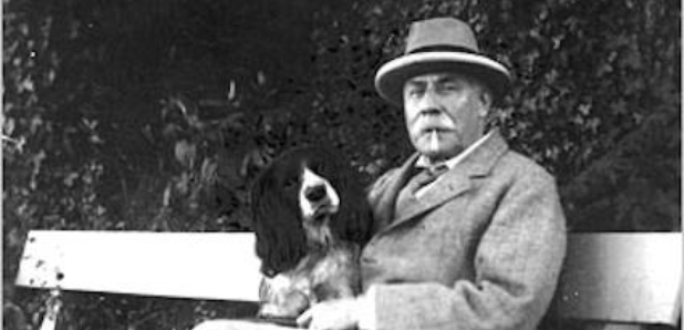 Edward Elgar composer spaniel dog