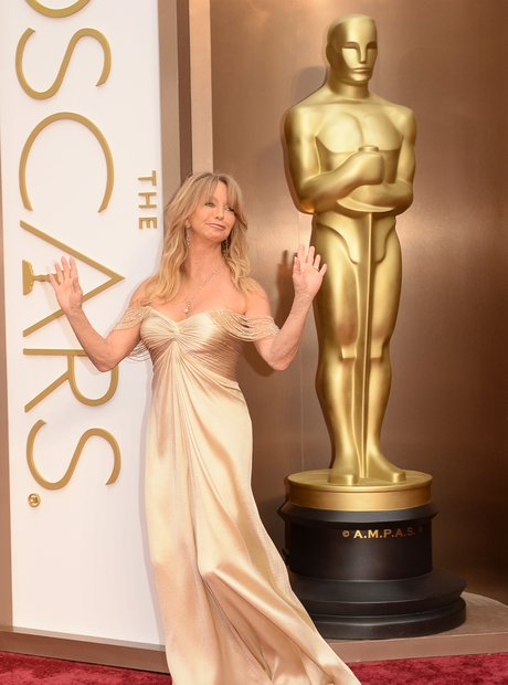 Goldie Hawn at the Oscars 2014