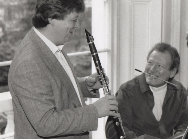 Sir Neville Andrew Marriner conductor clarinettist