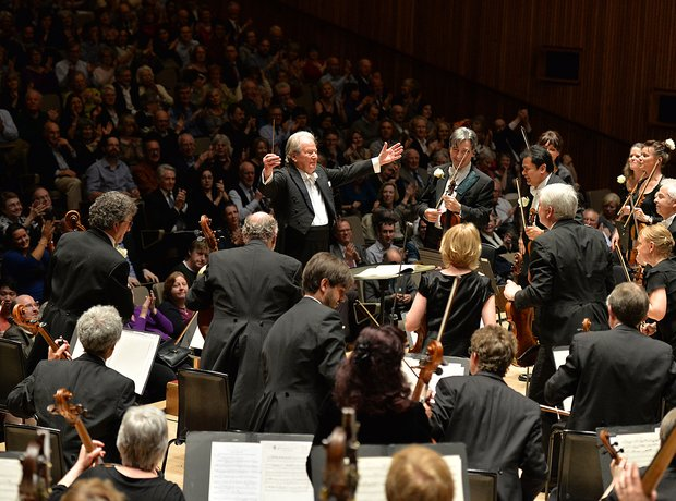 Neville Marriner Academy Martin Fields Royal Festival Hall 90th birthday conductor