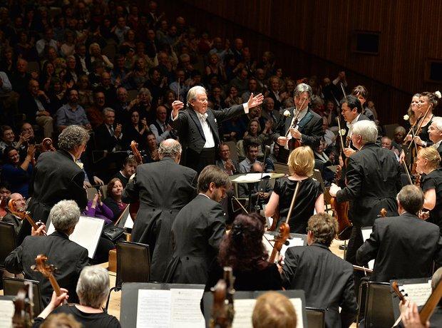 Neville Marriner Academy Martin Fields Royal Festival Hall 90th birthday conductor