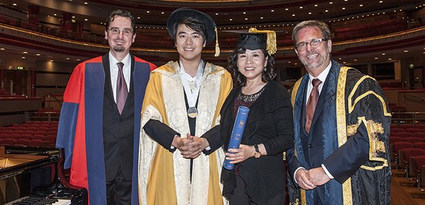 Lang Lang honorary doctorate