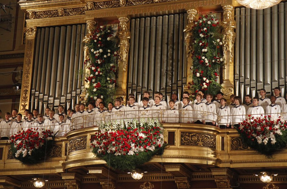 Vienna Boys Choir New Year's Concert