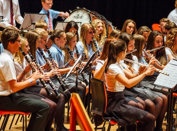 Carleon Comprehensive School Wind Band