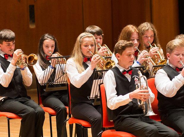 Fred Longsworth High School Brass Band