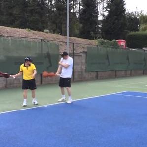 Viola tennis racket