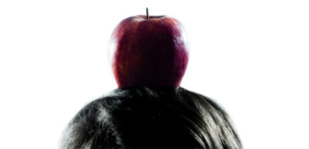 William Tell apple son's head