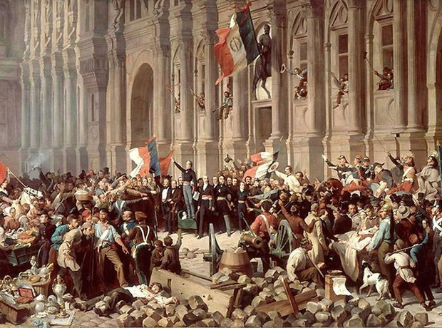 Frederic Chopin 1848 February Revolution Paris
