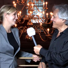 Alison Balsom and John Suchet