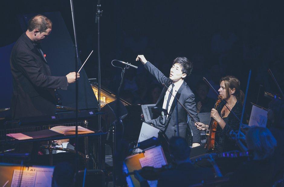Ji Liu at Classic FM Live 2014