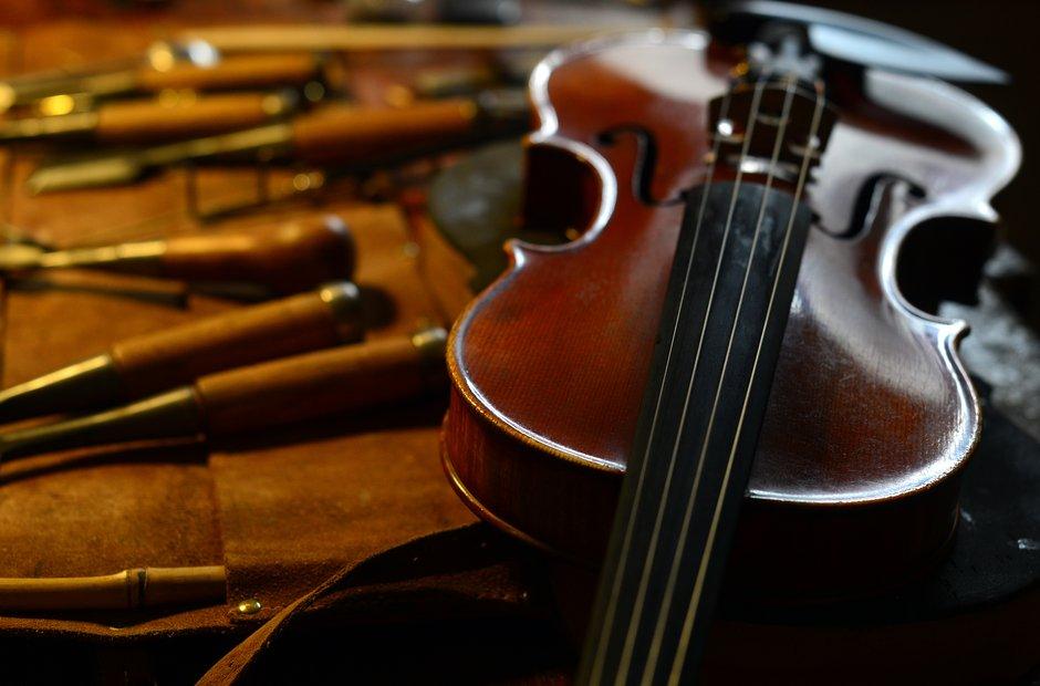 Violin Making - Mathias Menanteau