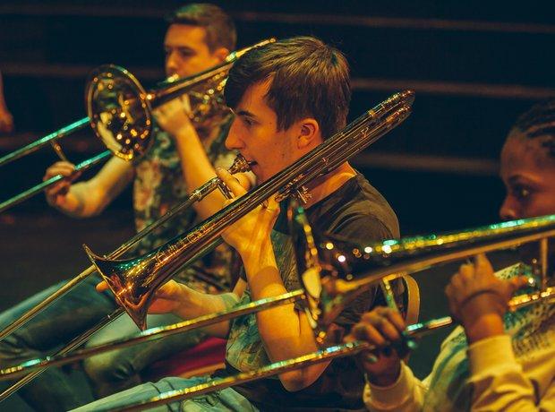 The Blue Coat School Brass Band School Proms 2014