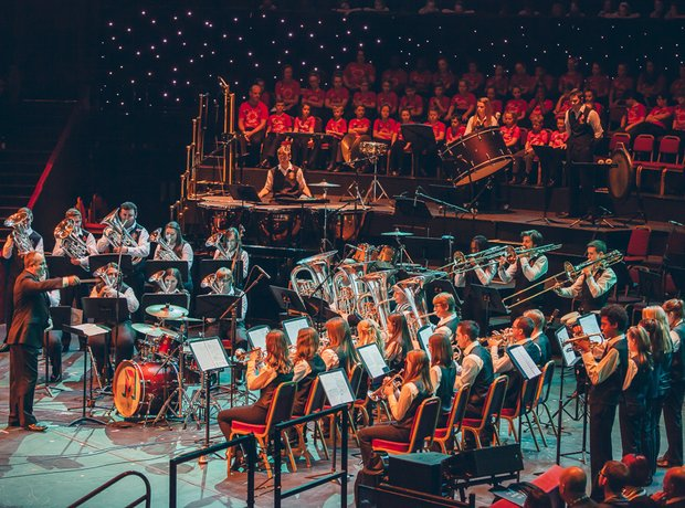 The Oldham Band Performance