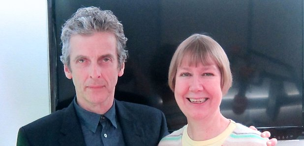 Peter Capaldi Dr Who Charlotte Green