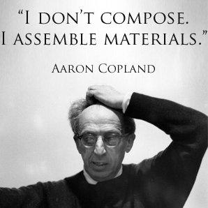 aaron copland grumpy quote