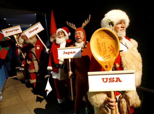 Santa Claus Christmas Father Congress Denmark