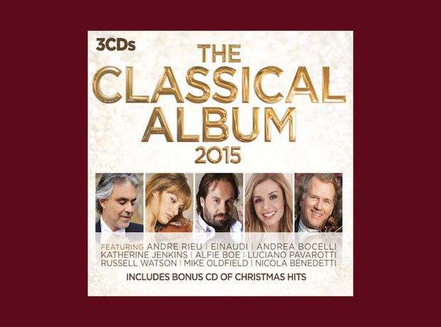 best-selling classical album 2015