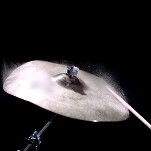 Cymbal slow motion