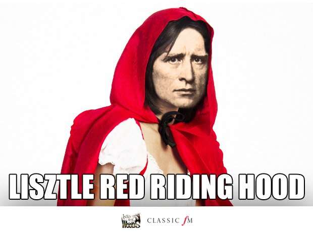 Liszt and Little Red Riding Hood splice