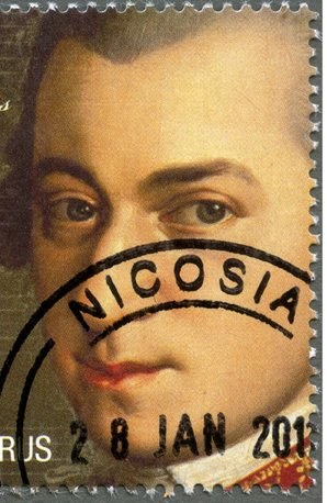 classical music on stamps