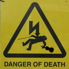 Danger of death violin sign