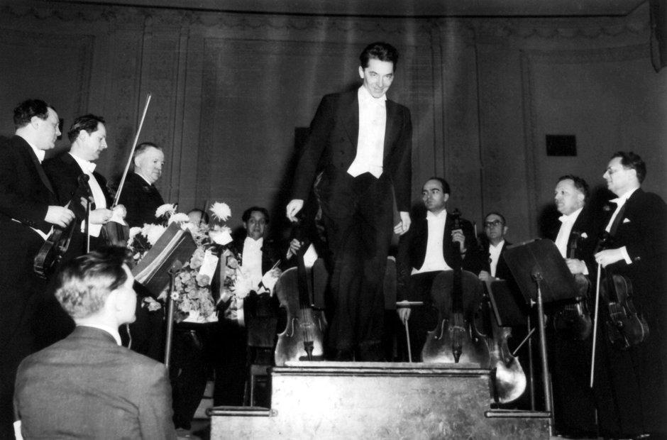 Berlin Philharmonic Herbert von Karajan Carnegie Hall