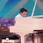 Curtis Elton performs on Britain's Got Talent