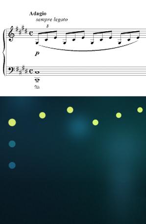 Moonlight Sonata on Touch Pianist