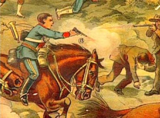 John Shurlock bugle Boer war Elandslaagte