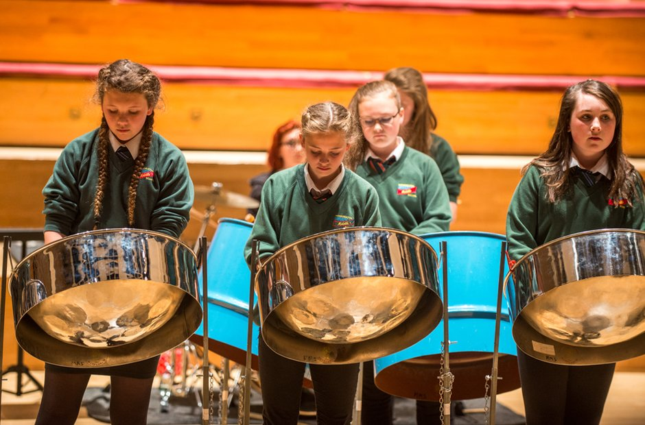 Monkseaton Middle Steel Band