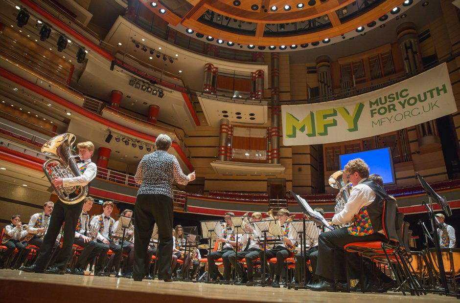Tapton School Brass Band