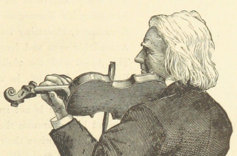 British Library images music Ole Bull violinist