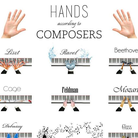 Composer piano hands