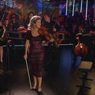 Anne-Sophie Mutter in the Yellow Lounge