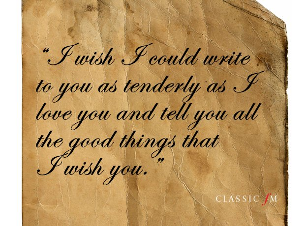 Heart-Breaking Quotations From The Great Composers' Love Letters