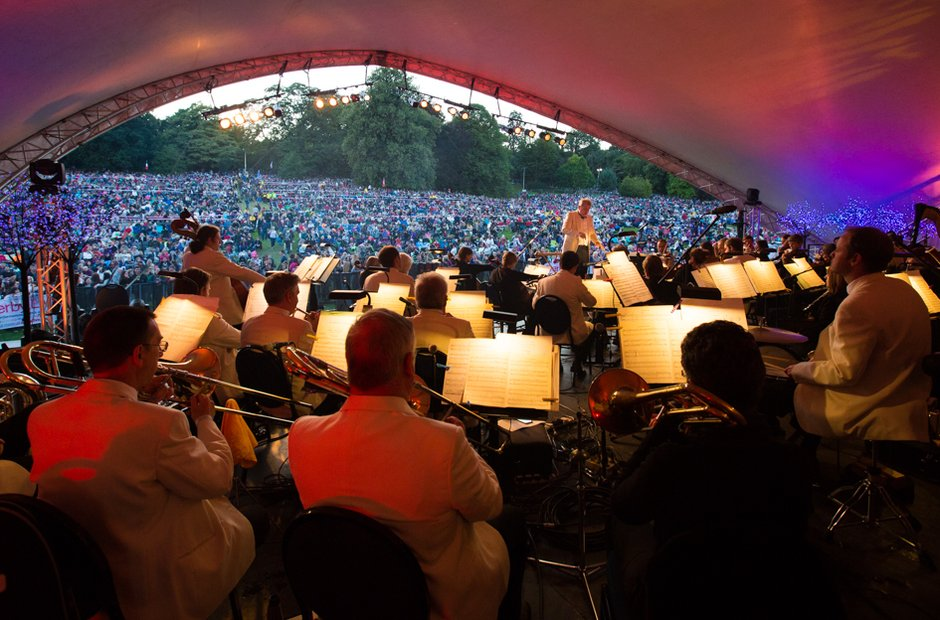The Darley Park Concert, Derby