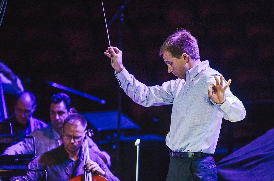 Vasily Petrenko at Classic FM Live 2015 Rehearsal