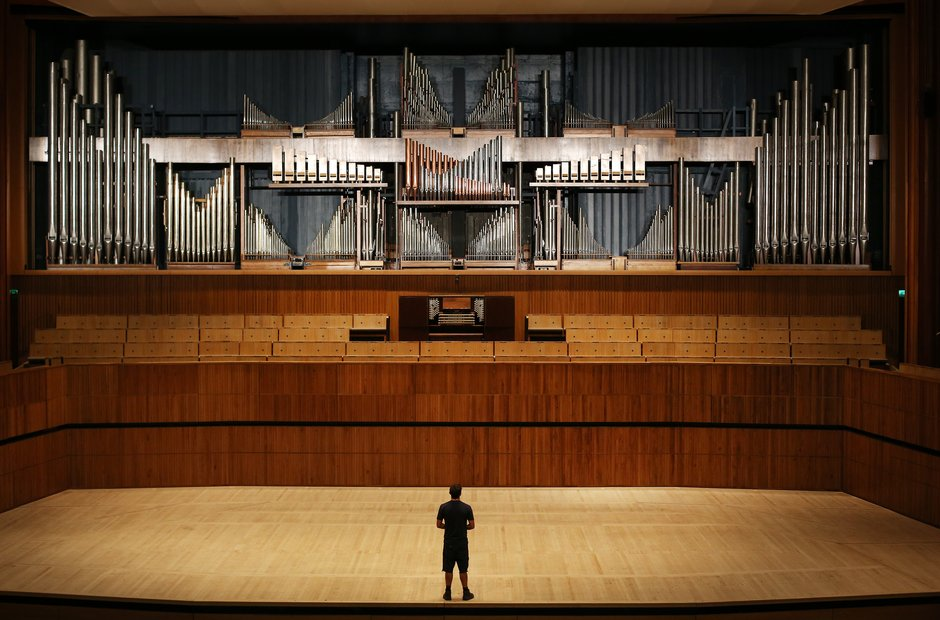 Southbank centre London Royal Festival Hall organ