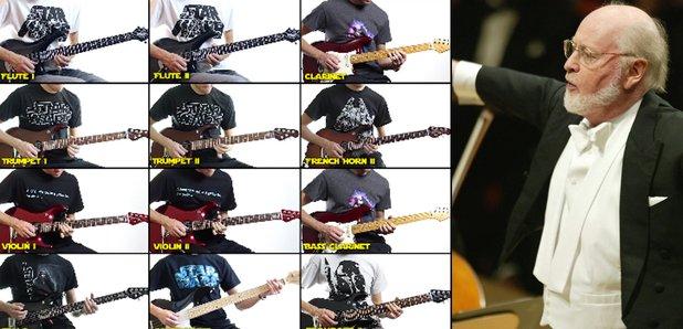star wars guitar orchestra