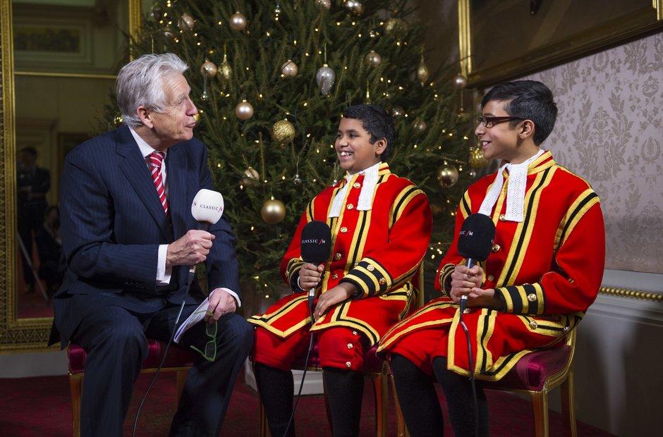 Christmas Buckingham Palace Nicholas Owen