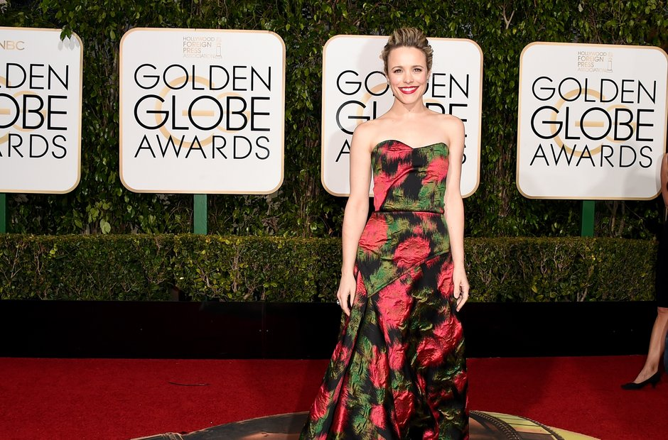 Rachel McAdams at the Golden Globe Awards 2016