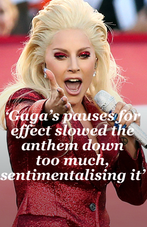Lady Gaga Super Bowl verdict